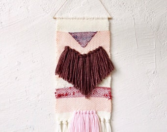 Fringe Woven Wall Hanging Weaving