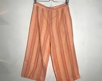 Cropped Dior Wide Leg Pants