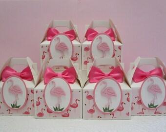 Flamingo Favor Boxes, Flamingo Party Favors, Flamingo Party, Flamingo Favors, Favor Boxes, Baby Shower Favor Boxes, Birthday Favor Boxes
