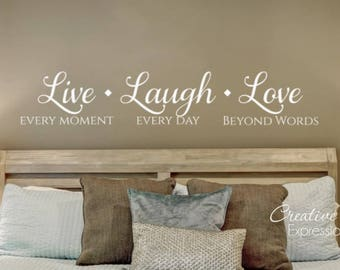 Live Laugh Love | Etsy
