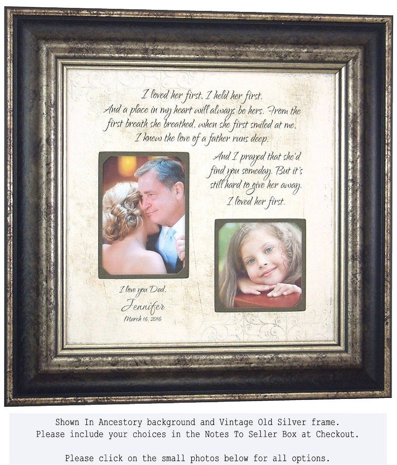 Father of the Bride Gift, Father Daughter Gift, I Loved Her First ...