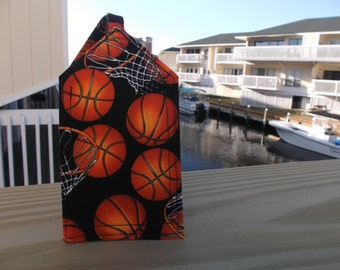 Basketball and Hoops Luggage Tag