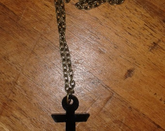 Ye Old Black Anchor Chain