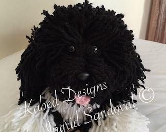 Roxy the crochet amigurumi dog,crochet dog pattern, amigurumi pattern