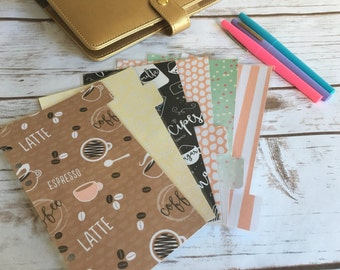 Set of 6 Personal Planner / dividers / Planner Accessories / Planner Inserts / Personal planner / kikkik / filofax / minnie mouse / birthday