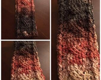 Crochet ribbed headband