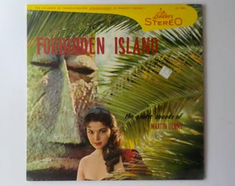 Forbidden Island The Exotic Sounds of Martin Denny LP Record Album Vinyl Hawaiian Music