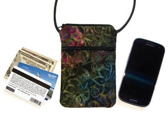 Cell Phone Purse, iPhone Purse, Small Purse