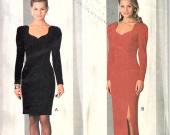 Butterick 6555 Women's Sweetheart Neckline Dress/Gown