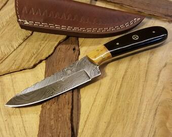 Damascus Knife 108
