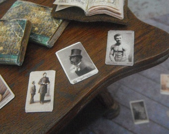 Miniature Circus Performer Cabinet Cards