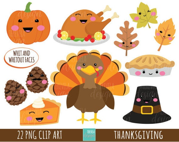 50 sale thanksgiving clipart commercial use turkey clipart rh etsy com cute happy thanksgiving clipart cute thanksgiving clip art to cover candles