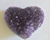 Gorgeous Amethyst Heart! ...