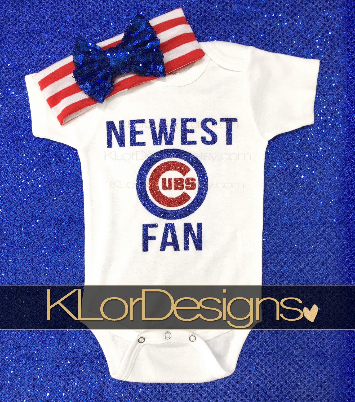 Newest Cubs fan Chicago Cubs Chicago Cubs baby baby girl