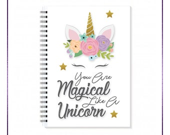 You Are Magical Spiral A5 Notebook