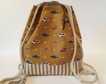 Kids Backpack Sports bag kids bag cars