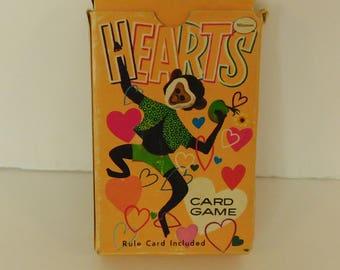 Hearts Card Game Whitman Publishing Company 1951