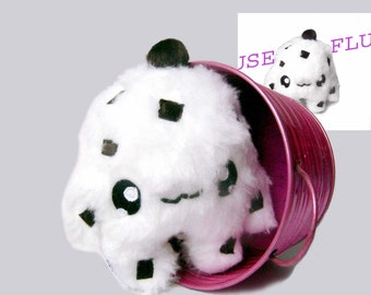Kawaii Plush Stracciatella  Cupcake Monster
