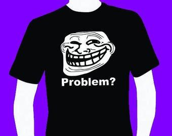 Internet meme Troll men's T-shirt