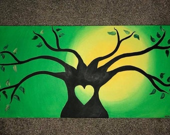 Family Tree - Acrylic on Canvas
