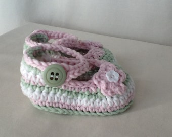 Mary Jane Slippers (6-12 months)