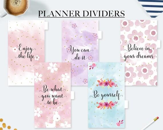 Amato Divisori agenda divisori stampabili tab planner agenda SG59