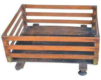 Midcentury Wooden Cartop Rack and Luggage Carrier