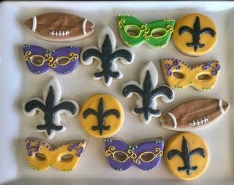 New Orleans Saints Cookies