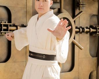 "Star Wars Obi-Wan Kenobi cosplay costume, Jedi outfit from ""Star Wars Episode I"" movie"