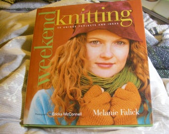 DE-STASH Knitting Book: Weekend Knitting--50 Unique Projects and Ideas