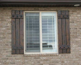 Exterior shutters | Etsy