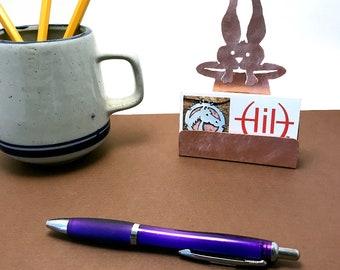 Magicians Business Card Holder, magic Copper Desk Accessor Magic gift lover Magic items magician gifts
