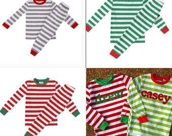 Christmas Pajamas - Personalized Christmas PJs