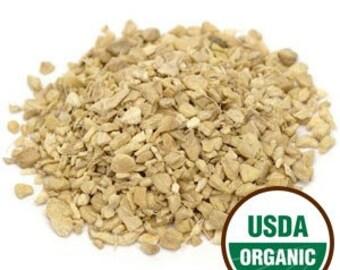 Ginger root, cut/s organic 2 oz