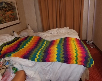 Twin size afghan