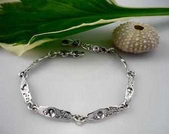 Womens silver bracelet, silver bracelet, bracelet