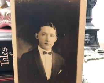 Vintage portrait postcard