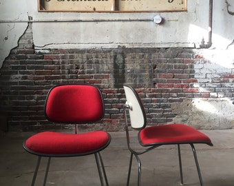 Eames DCM chairs mid century modern chair mid century modern dining chairs a pair