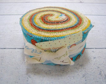 Lollipop Jelly Roll by Sandy Gervais for Moda