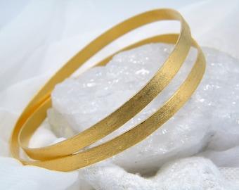 Gold bangle  Elegant bracelet handmade bracelet