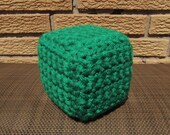 items similar to bring minecraft to life with a crocheted emerald