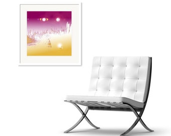 EDEN - Abstract Art Print on Canvas - Digital Art - Fine Art Print - Space Print - Decorative Wall Art