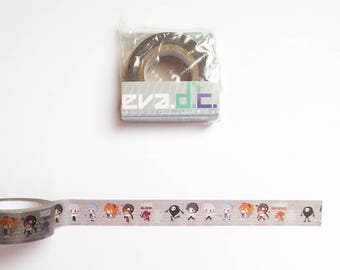 Evangelion Washi Tape, Eva, Shinji, Asuka, Rei Washi Tape, Deco Tape, Anime Masking Tape