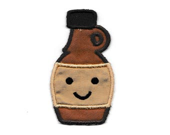 Happy Syrup Bottle Patch! Custom Made!