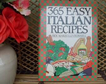 365 Easy Italian Recipies Cookbook, 1991