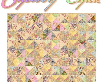 SHABBY CHICK - Quilt-Addicts Patchwork Quilt Pattern