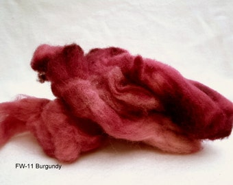Felting Wool: FW-11 Burgundy