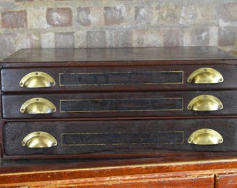 Antique haberdashery drawers shop drawers decorative storage