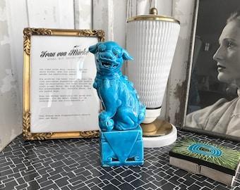 Blue Fu dog/blue foo Dog