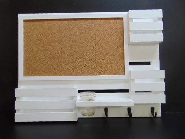 Cork Board Mail Organizer Message Center Mail And